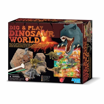 Dig and Play Dinosaur World