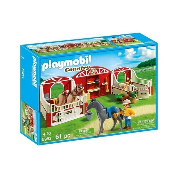 Playmobil 5983 Riding Stables Country Pony / Horse Stable