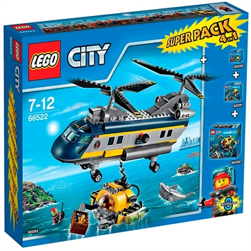 66522 LEGO City Dybhavs superpack