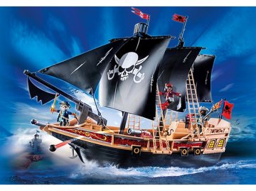 Playmobil piratskib 6678