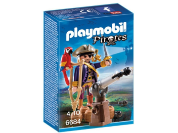 Playmobil 6684 - Piratkaptajn