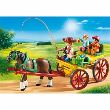 Horse-Drawn Wagon 6932