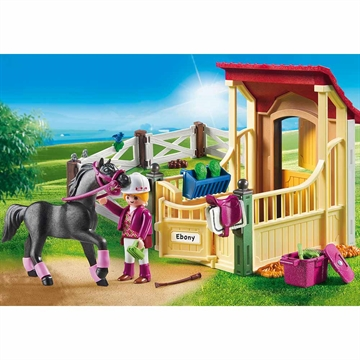 Horse Stable with Araber 6934
