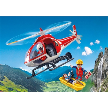 Mountain Rescue Helicopter 9127