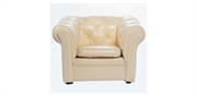 Chesterfield New Ivory børnestol - Toysstore