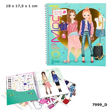 TOPModel Dress me up Stickerbog 047999
