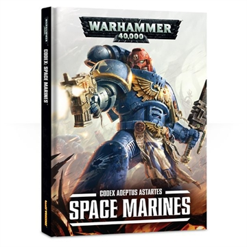 Warhammer 40,000 Codex Adeptus Astartes Space Marines Book