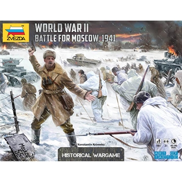 Battle for Moscow 1941 an Art of Tactic Wargame ZVE-6215