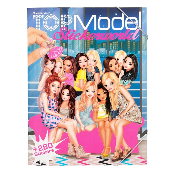 Stickerworld, Topmodel 048431