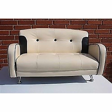 MINI MUSTANG SOFA BAIGE SORT